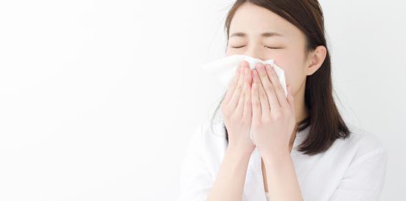 咳・鼻水・喉の痛み(風邪症状)